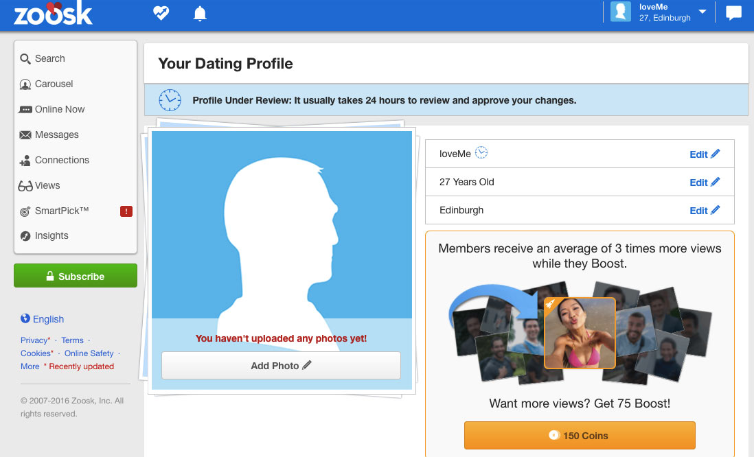Is zoosk dating site legit